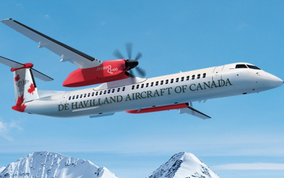 Longview committed to DHC Dash 8 – to be built elsewhere after a pause