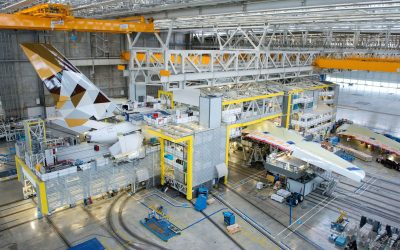 New A321neo production moves into A380 complex