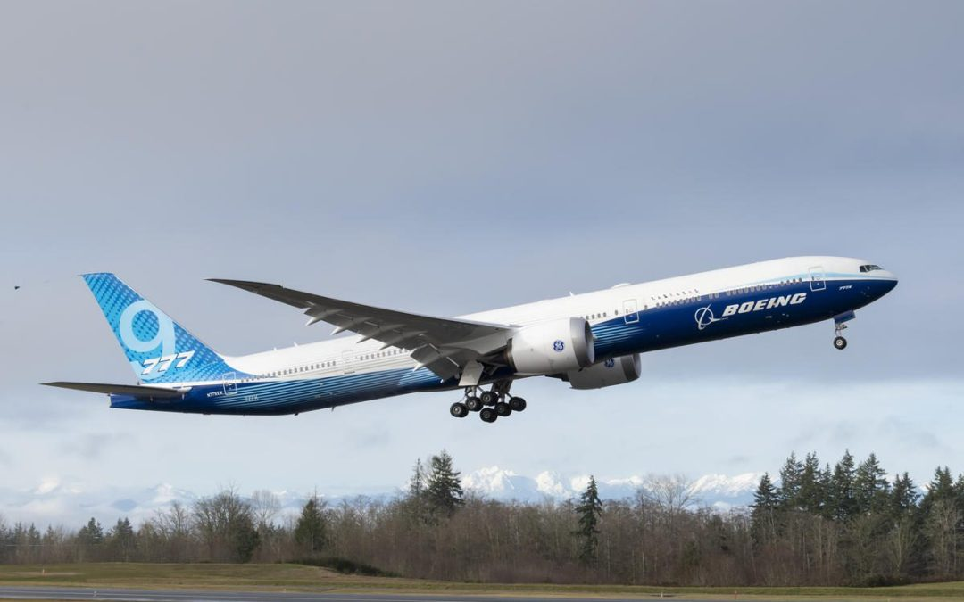 Succesful maiden flight 777X morale boost for Boeing (update)