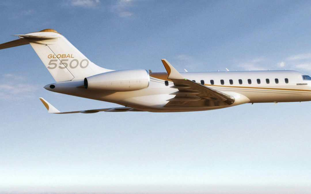 Bombardier Global 5500 Enters Service