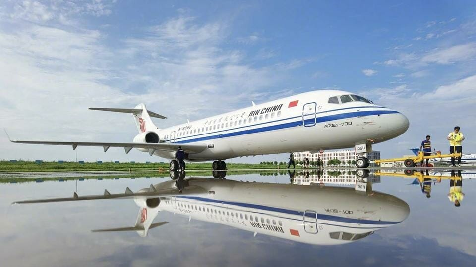 Comac ARJ21 hits milestone as first aircraft join Three Majors