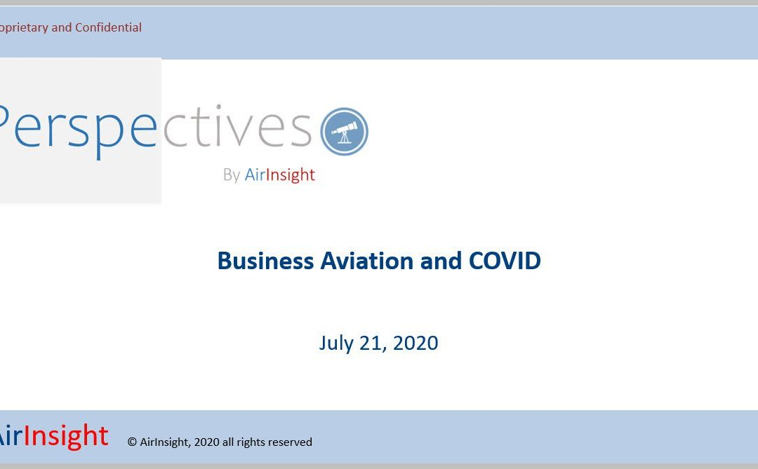 Webinar – Business Aviation during COVID