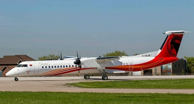 TAAG's first Dash8 – How collaboration overcame Covid
