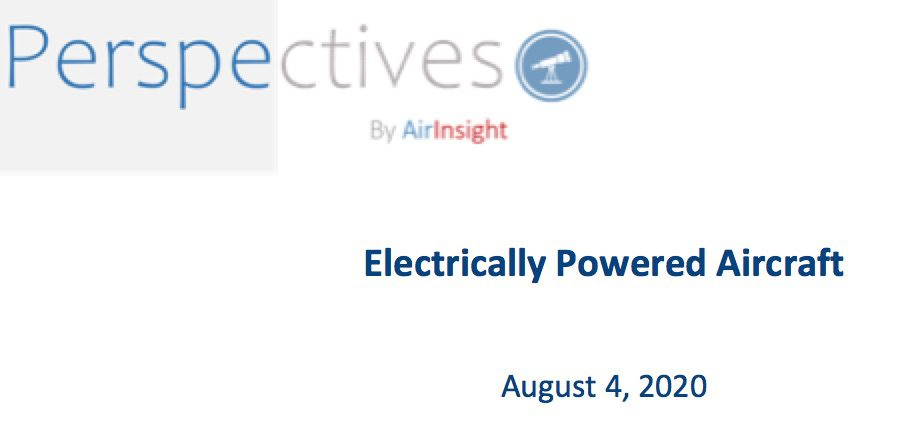 Webinar recording – Electrically Powered Aircraft