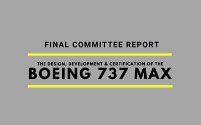 """House Committee MAX report: """"A troubling pattern of problems"""""""