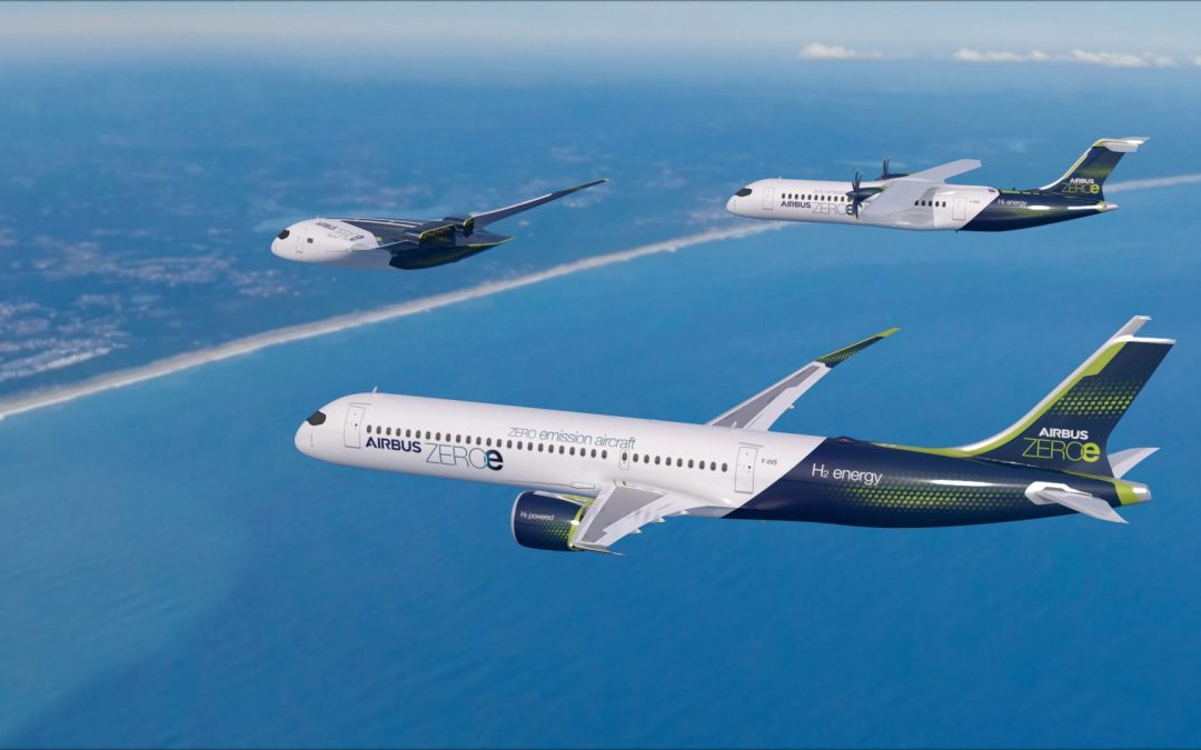 Airbus opts for hydrogen for next-generation airliners (update)