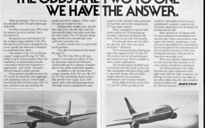 Insight:  Thursday 22 October 2020:  Boeing fights back?