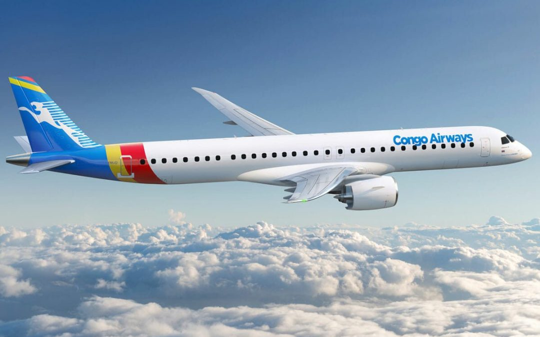 Congo Airways invests $272 million in four Embraer aircraft