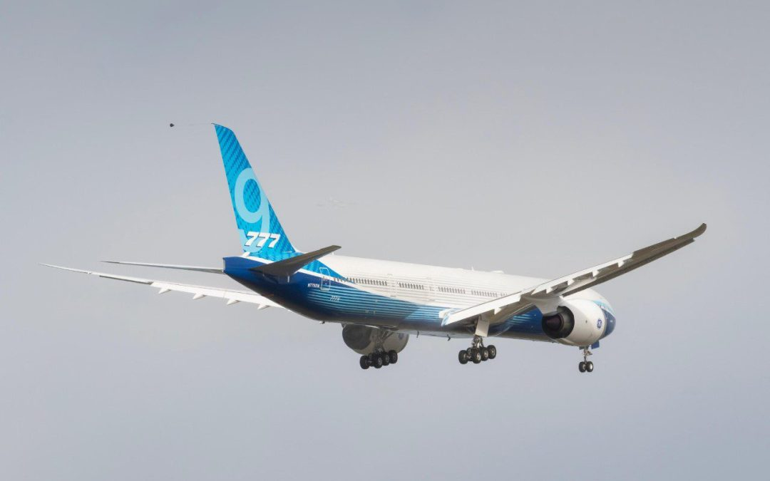 First delivery Boeing 777-9 slips to late 2023 (update 2)