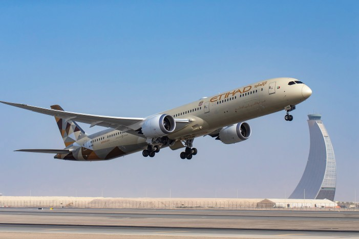 Boeing 787 of Etihad