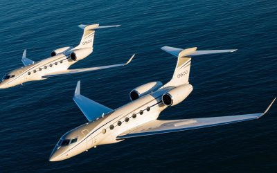 Gulfstream Delivers 100th Aircraft in G500/G600 Family