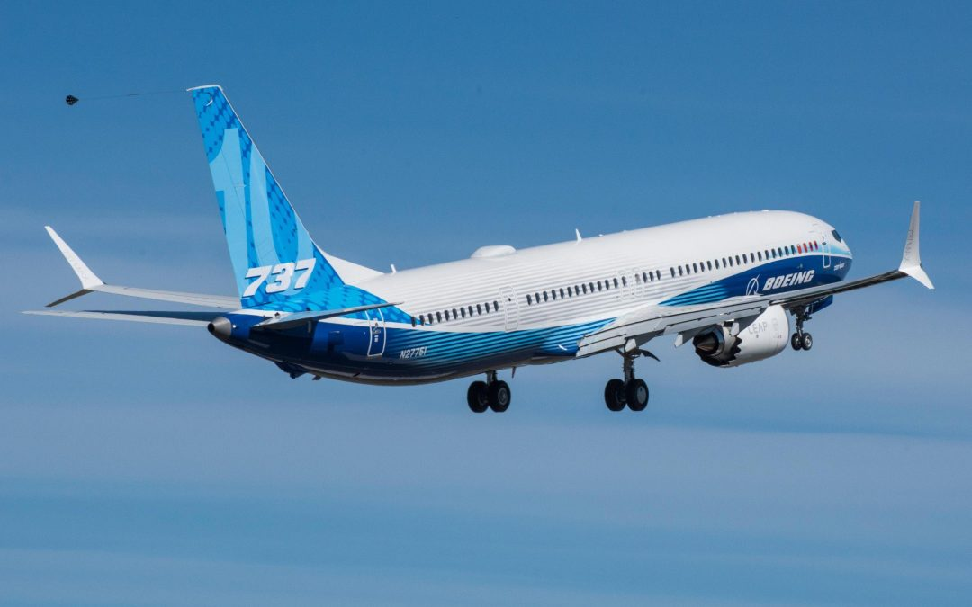 The Boeing MAX 10 is cleared for take-off
