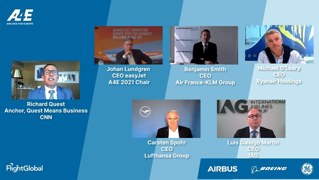 Airlines4Europe Aviation Summit 2021