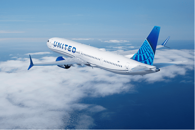 Boeing MAX 10 United Airlines
