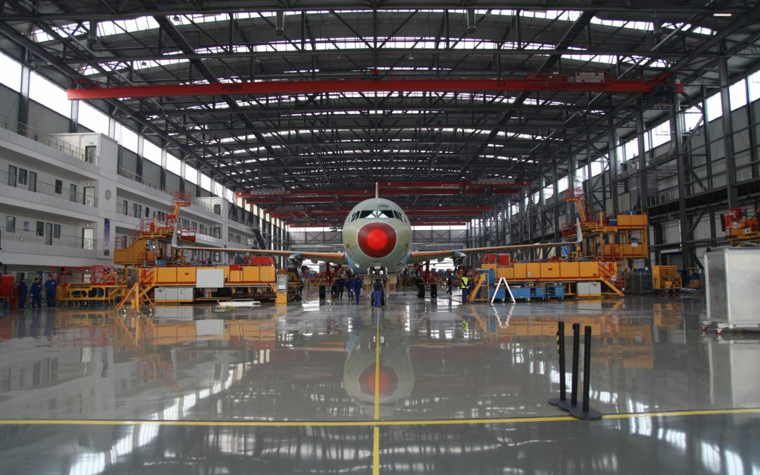 Airbus has started fuselage-equipping in Tianjin