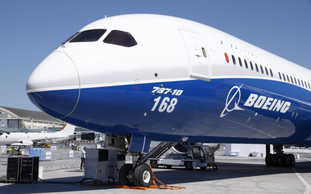 The Boeing 787 has a new nose issue