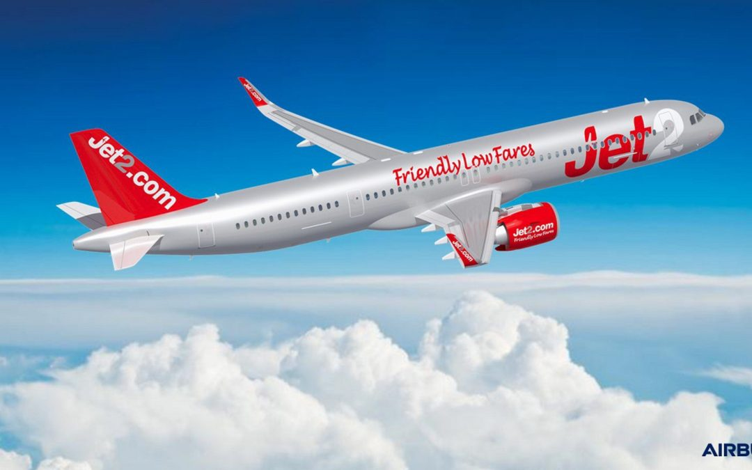 Airbus steals Boeing's thunder with Jet2 order