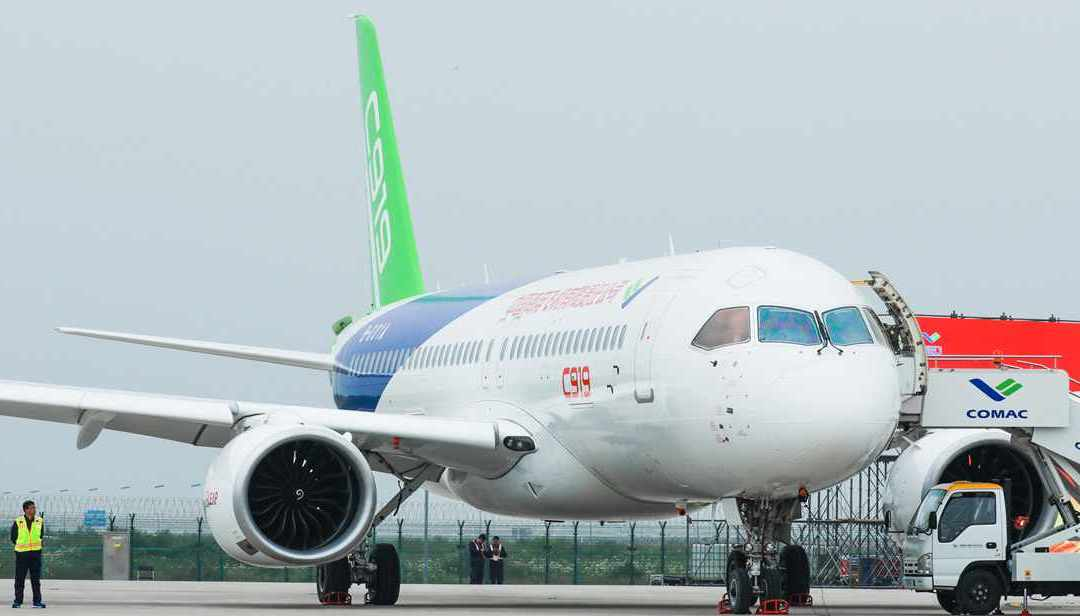 COMAC sees China's fleet grow to nearly 10.000 by 2040