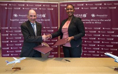 RwandAir and Qatar strengthen bond with codeshare