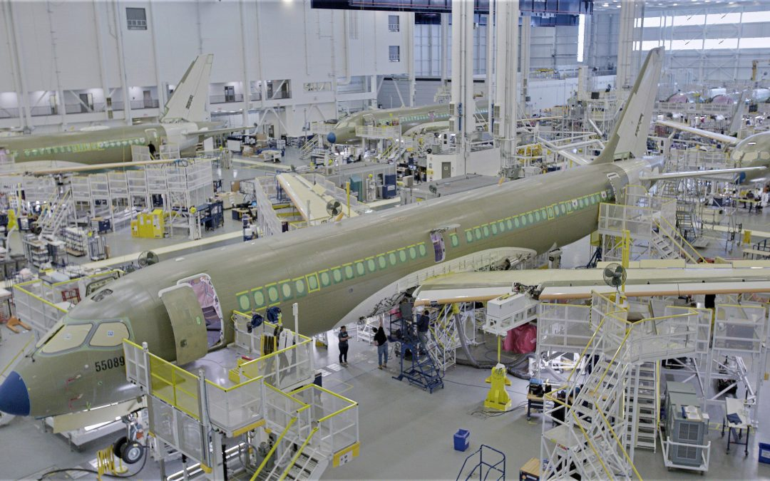 Airbus Canada almost ready for new A220 pre-FAL line