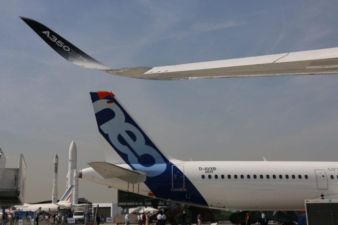 Airbus Paris Air Show a350