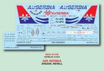 BOA144-102 Air Serbia A.320 Decal