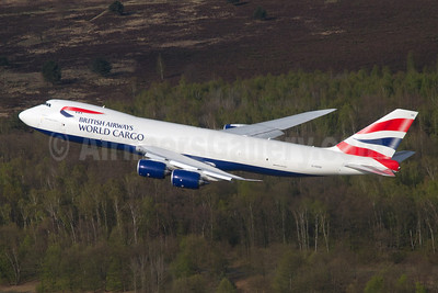 british airways world cargo courier