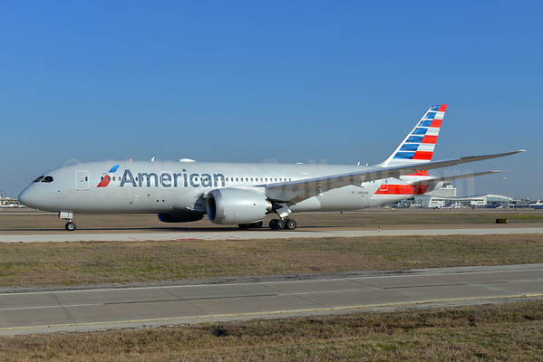 Two American Airlines Bound Boeing 787 8 Dreamliners Are