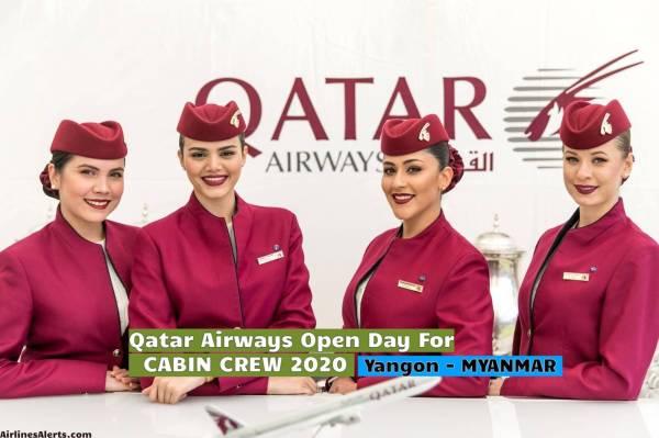 Qatar Airways Open Day For Cabin Crew Yangon (Myanmar ...