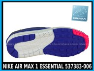 NIKE AIR MAX 1 ESSENTIAL 537383-006 w kolorze ( szare, ultramaryna, niebieskie )- cena 379,99 zł z wysyłką gratis - sklep 4