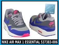 NIKE AIR MAX 1 ESSENTIAL 537383-006 w kolorze ( szare, ultramaryna, niebieskie )- cena 379,99 zł z wysyłką gratis - sklep 5