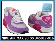 NIKE AIR MAX 90 GS 345017-016 damskie air maxy cena 339,99 zł - różowe 5