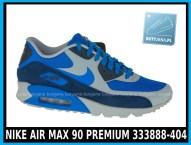Niebieskie NIKE AIR MAX 90 PREMIUM 333888-404