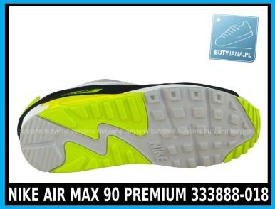 NIKE AIR MAX 90 PREMIUM 333888-018 w kolorze WHITE - GREY - YELLOW (szare, białe, żółte) w cenie 389-99 zł 3