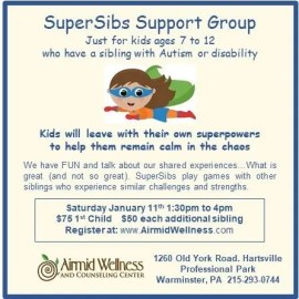 #autism #disability #SuperSibs #Airmid Wellness #Kids