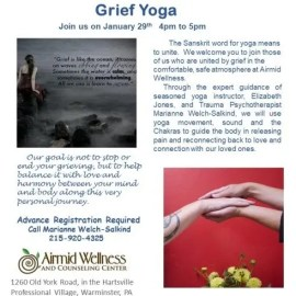 Grief, Grief Yoga, Healing, Mourning
