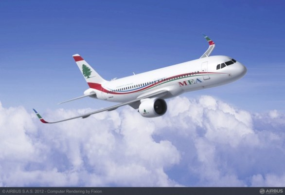 Middle East Airlines Airbus A320