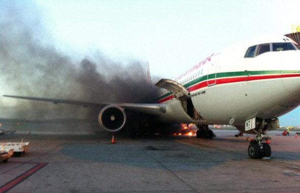 Air Maroc 767 Fire at Montreal