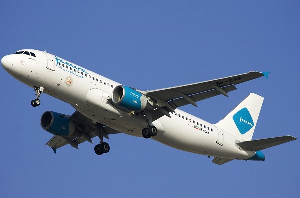 Jazeera Airways Airbus A320-214