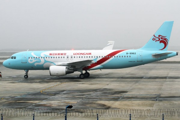 Zhejiang Loong Airlines Airbus A320