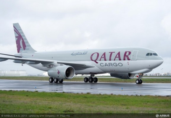 Qatar Airways Airbus A330-200F Cargo