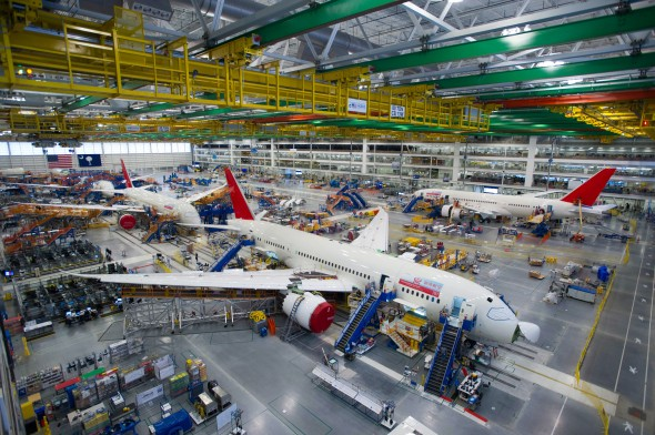 Boeing South Carolina 787 Final Assembly