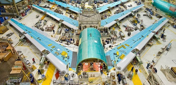 Boeing Assembly Line