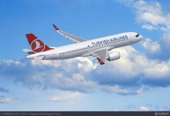 Turkish Airlines Airbus A320neo