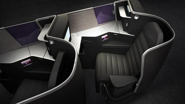 Virgin Business Class 1
