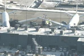 2 United Jets Scrape Wingtips at Dulles