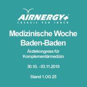 53. Medizinische Woche Baden-Baden vom 28.10.-1.11.2020