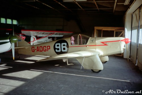 G-ADGP Miles M.2L Hawk Speed Six