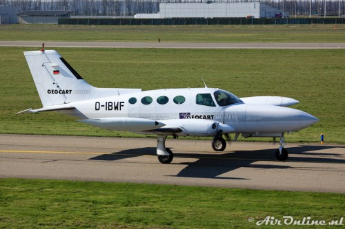 D-IBWF Cessna 402B Geocart Herten