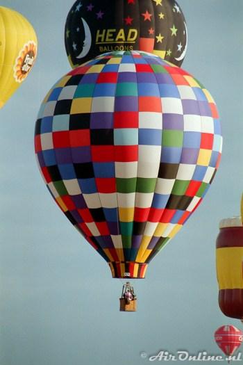 Head Balloon / Chambley (F) augustus 1993